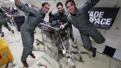 3D-Drucker in Schwerelosigkeit: Selbst ist der Astronaut.