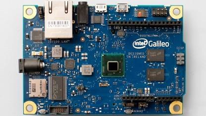 Das Galileo-Mainboard bildet die Basis des Quark-Systems.