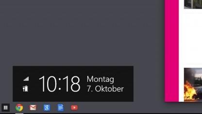 Aura erlaubt es, das Modern-UI von Windows 8 zu kapern.