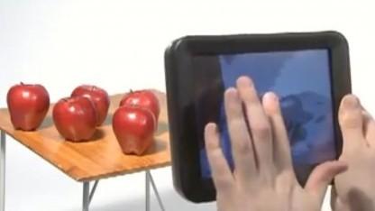 Taktiles 3D-Display: elektrisches Kraftfeld zwischen Haut und Oberfläche