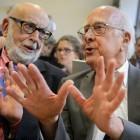 Auszeichnung: Physik-Nobelpreis für Peter Higgs und François Englert