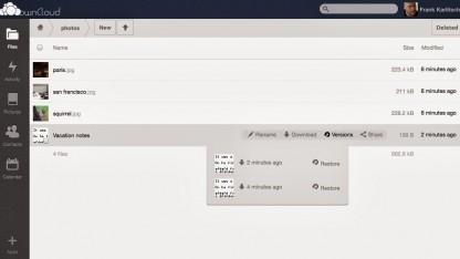 Owncloud 6 steht zum Download bereit.