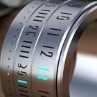 Ring Clock: Ringuhr mit Induktionsladung