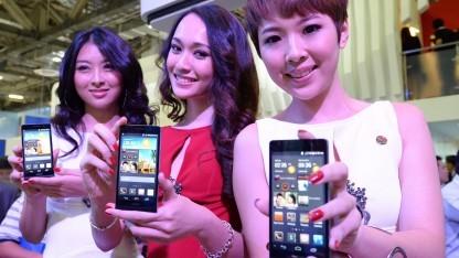 Huawei machte mit seinen Produkten im Jahr 2012 rund 35 Milliarden US-Dollar Umsatz.