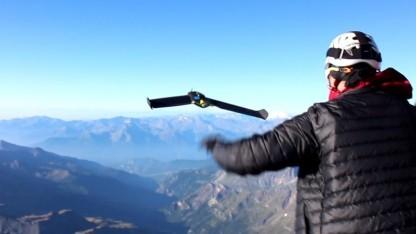 Drohnenstart auf dem Matterhorn: durchschnittliche Auflösung von 20 Zentimetern