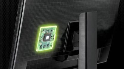 Monitor mit G-Sync-Modul (Illustration)