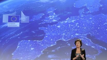 Neelie Kroes will einen einheitlichen EU-Telekommunikationsmarkt