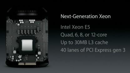Neuer Mac Pro kommt im Dezember 2013.