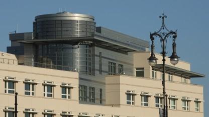 Angeblicher Horchposten der NSA: die US-Botschaft in Berlin