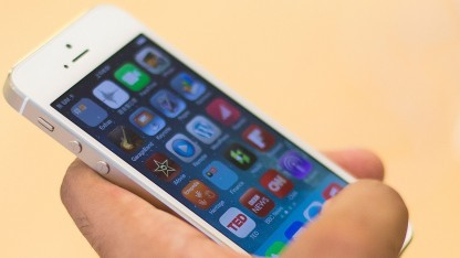 iOS 7 auf einem iPhone 5S