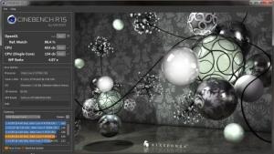 Der Cinebench R15 testet Prozessoren und Grafikkarten.