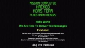 Botschaft auf der Whatsapp-Seite