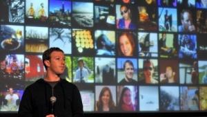 Mark Zuckerberg bei der Ankündigung von Graph Search