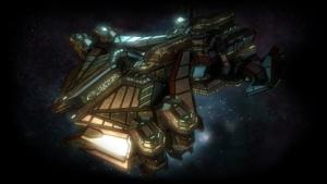Raumschiffsartwork von Galactic Civilizations 3