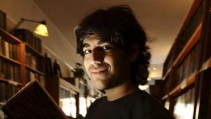 Aaron Swartz im Februar 2008