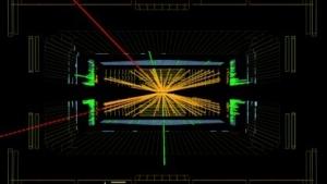 Kandidat für ein Higgs-Ereignis: Daten aus dem Jahr 2010