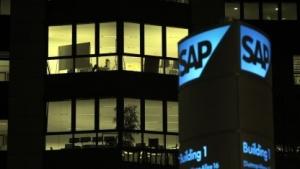Am SAP-Hauptsitz