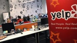 Büroraum von Yelp