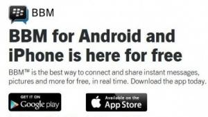 Blackberry Messenger für Android ist da.