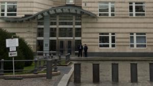 Verschlossene Tür: Deutsche Behörden dürfen in der US-Botschaft nicht ermitteln.