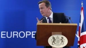 David Cameron auf dem EU-Treffen in Brüssel
