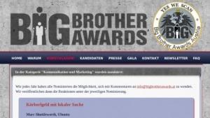 Für Österreichs Big Brother Award 2013 ist auch Canonicals Mark Shuttleworth nominiert.