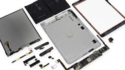 Das iPad Air ohne die Unmengen von verwendetem Klebstoff
