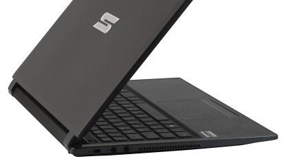 Das S403-Ultrabook bietet einen wechselbaren Akku.