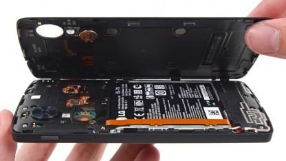 Das Nexus 5 soll sich vergleichsweise einfach öffnen lassen.