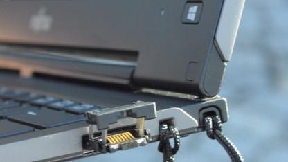 Netzwerkschnittstelle in Fujitsus neuem Convertible Lifebook T904