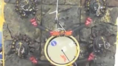 Roboter Lemur IIb mit Krallengreifer: keine glatten Oberflächen auf dem Mars oder dem Mond