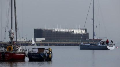 Google Barge vor San Francisco: wilde Spekulationen über den Zweck