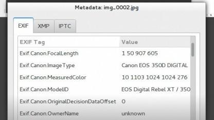 Gimp bekommt eine bessere Metadaten-Unterstützung.