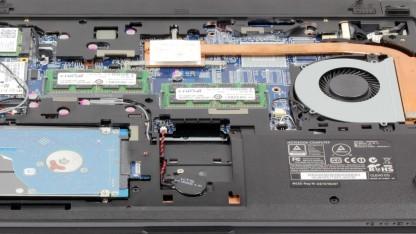 Das S403-Ultrabook ist leicht aufzurüsten.