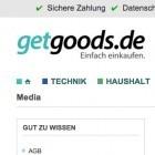 Onlinehandel: Getgoods.de ist insolvent