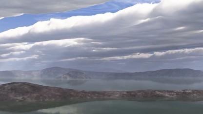 Frühzeit des Mars: staubige Rosa- und Brauntöne statt blauer Himmel