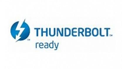 Das Logo für Thunderbolt zum Nachrüsten