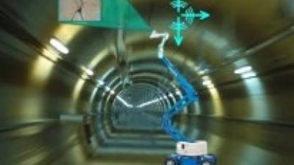 Robinspect: Inspektion und strukturelle Bewertung eines Tunnels