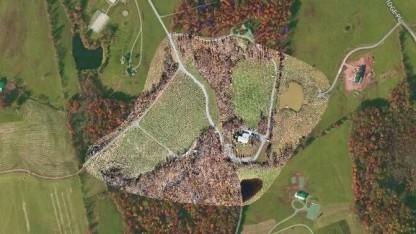 Mit Drohne kartiertes Gebiet: 225 Fotos mit einer Auflösung von 4 Zentimetern