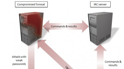 Wurm verbreitet sich über Tomcat-Server.