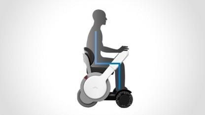 Rollstuhl Type-A: Drehen um die eigene Achse