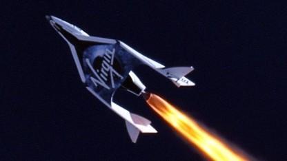 Spaceship Two: Bitcoin als Zahlungsmittel akzeptiert