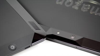 Kindle Fire HDX: Einschaltknopf auf der Rückseite