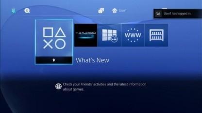 Playstation Network auf der PS4