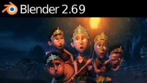 Blender 2.69 importiert FBX-Dateien.