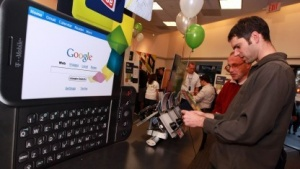 Das G1 war das erste Android-Smartphone.