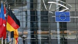 Das Europäische Parlament in Brüssel
