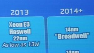 Auf die Haswell-E3- folgt die Broadwell-Variante.