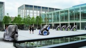 Fahrerloses Taxi in Milton Keynes (Konzept): nichts für Eilige