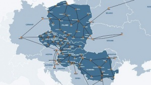 Netz von GTS Central Europe